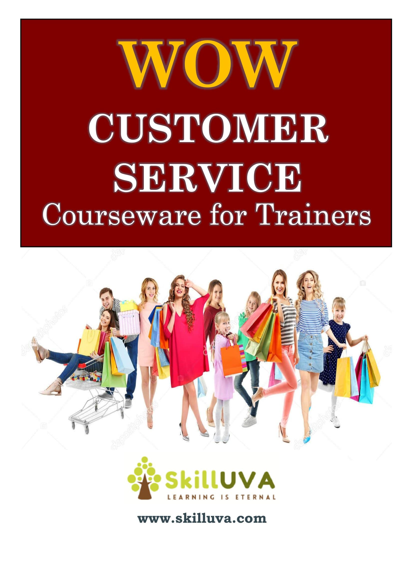 Customer Service Courseware – First Page