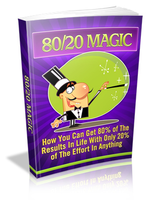 80/20 Magic – The Pareto Principle eBook
